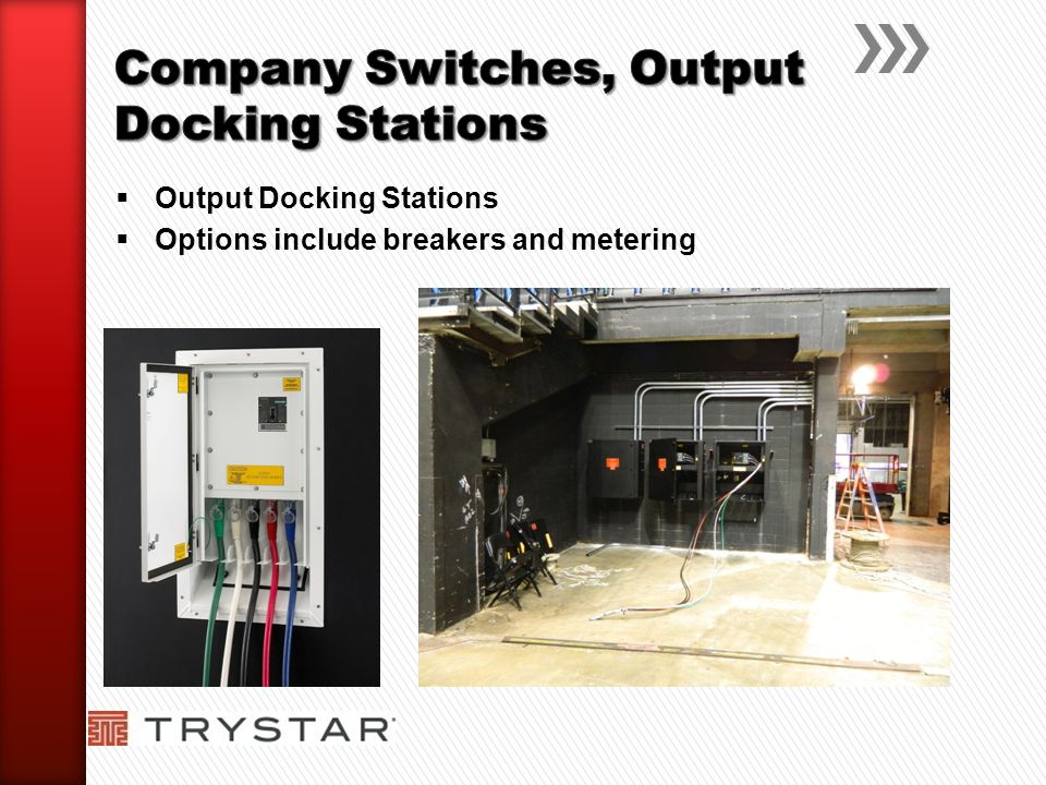 Company Switches, Output Docking Stations