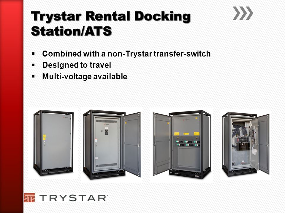 Trystar Rental Docking Station/ATS
