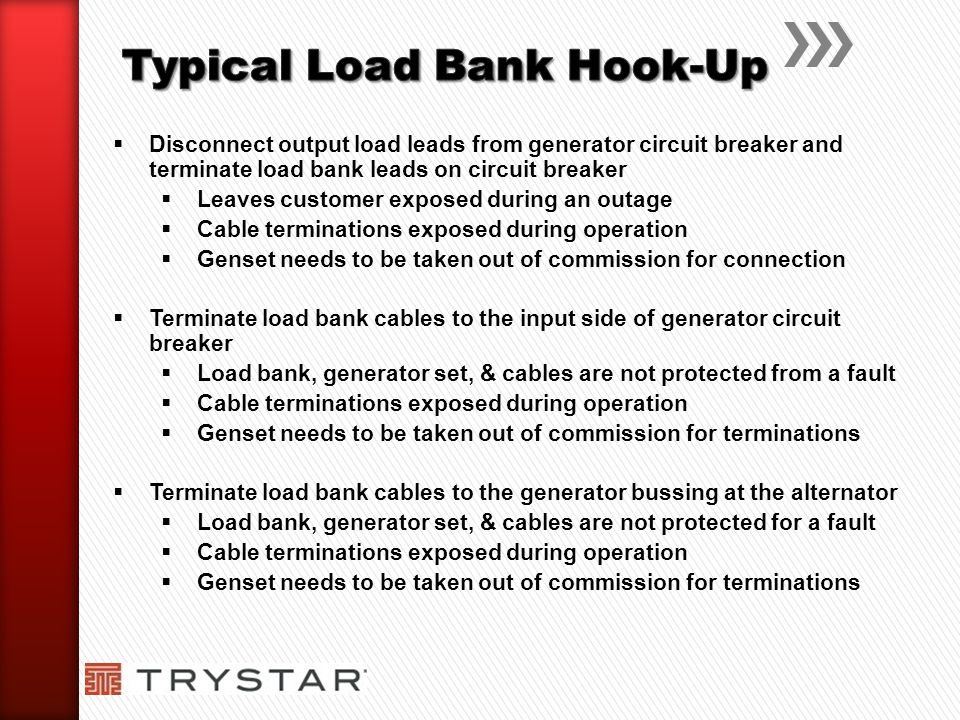 Typical Load Bank Hook-Up