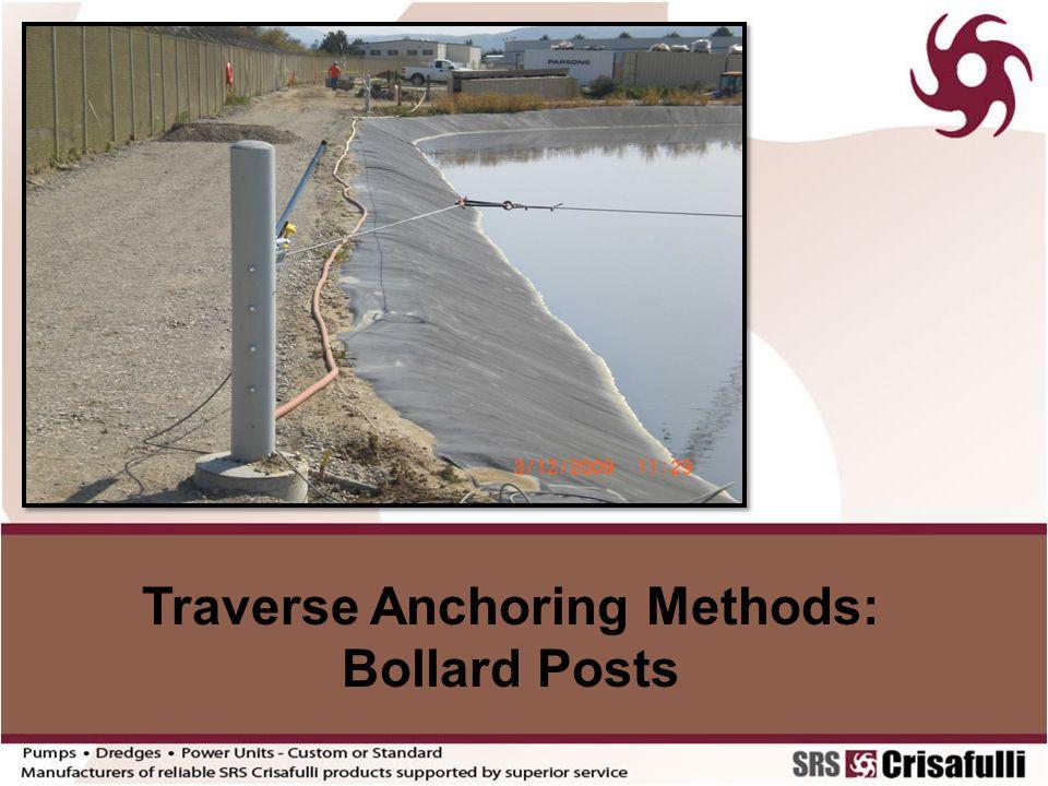 Traverse Anchoring Methods: Bollard Posts