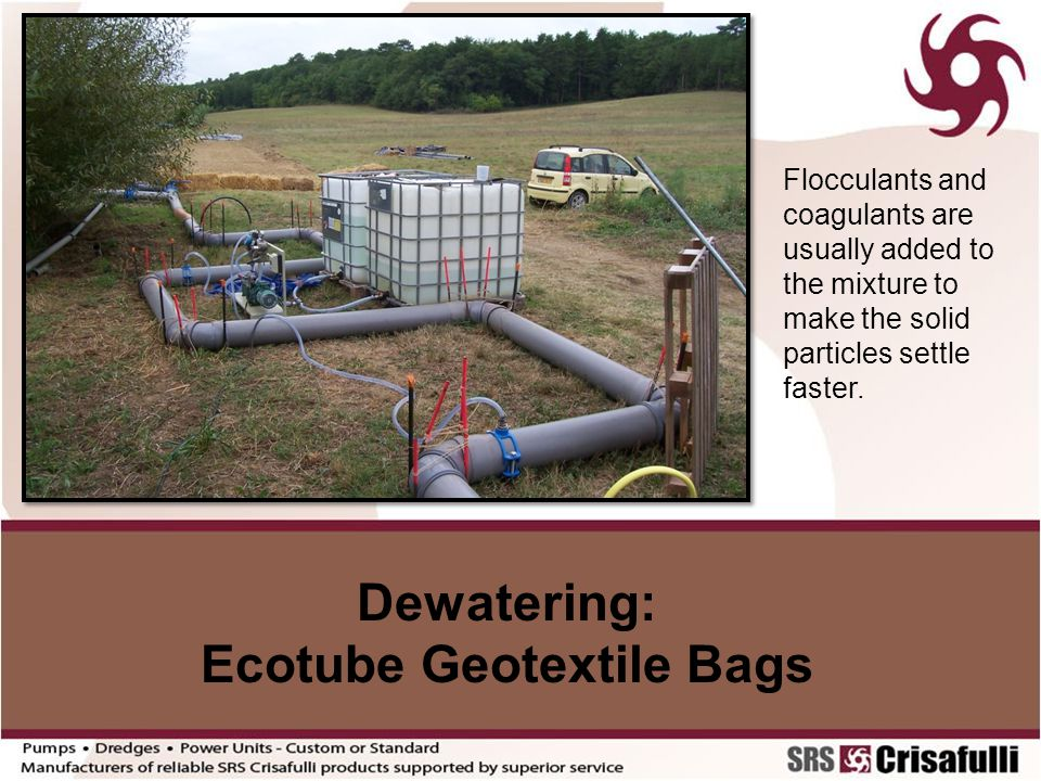 Ecotube Geotextile Bags