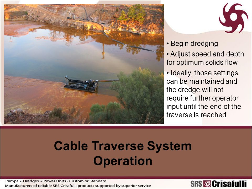 Cable Traverse System Operation