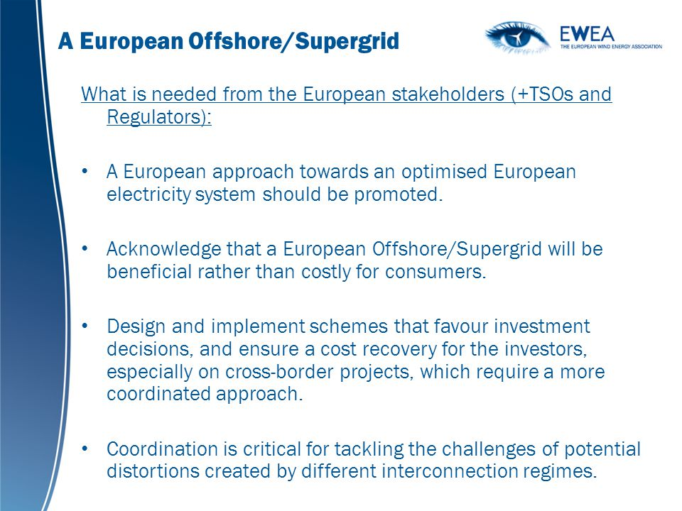 A European Offshore/Supergrid