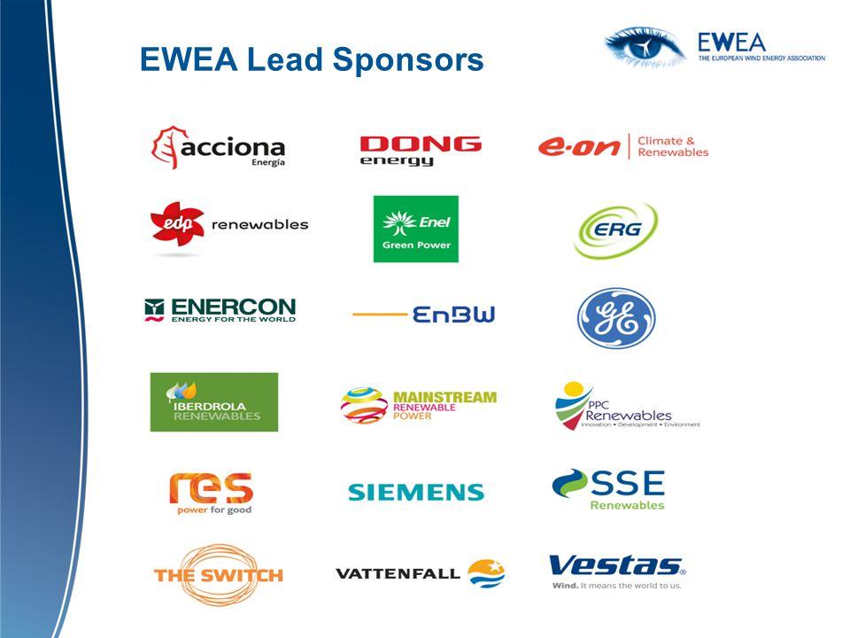 EWEA Lead Sponsors