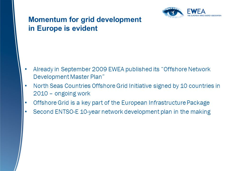Momentum for grid development in Europe is evident