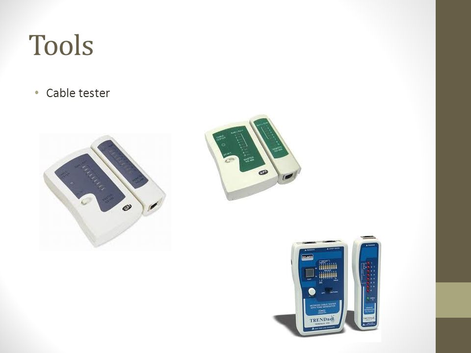 Tools Cable tester