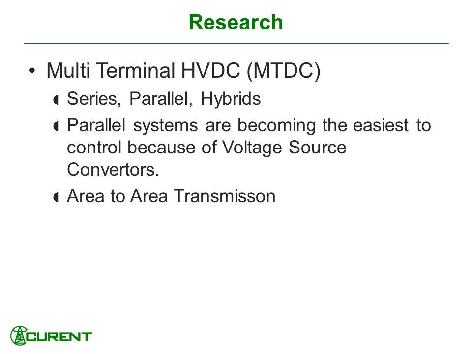 Multi Terminal HVDC (MTDC)