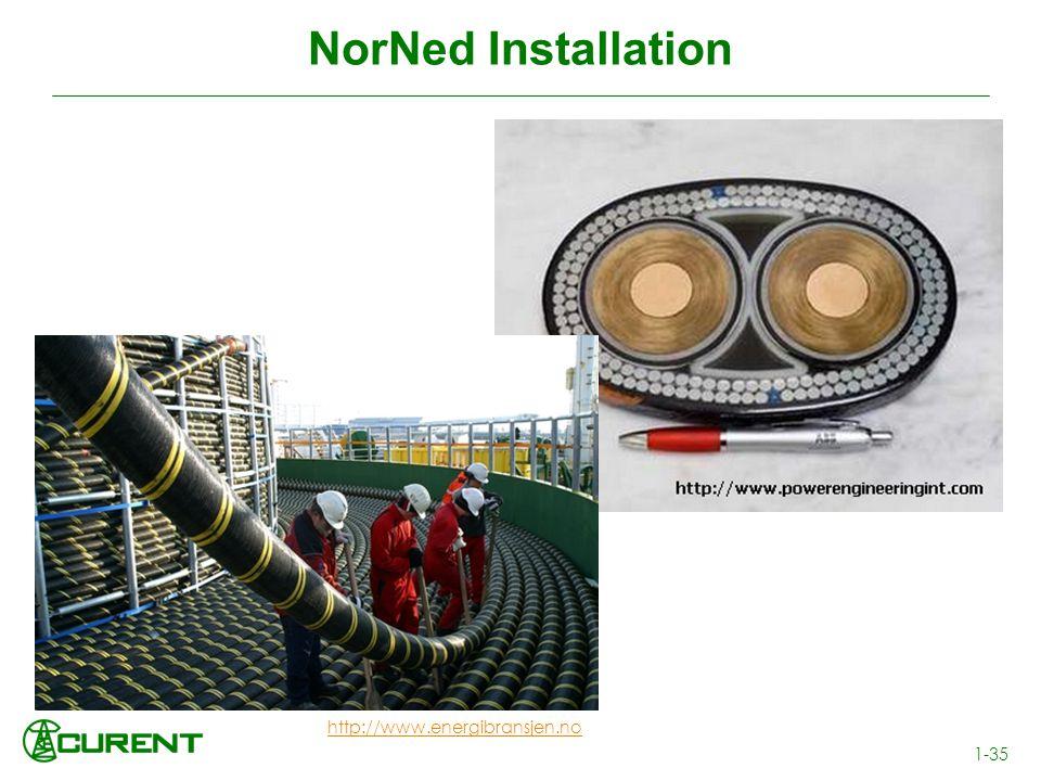 NorNed Installation http://www.energibransjen.no