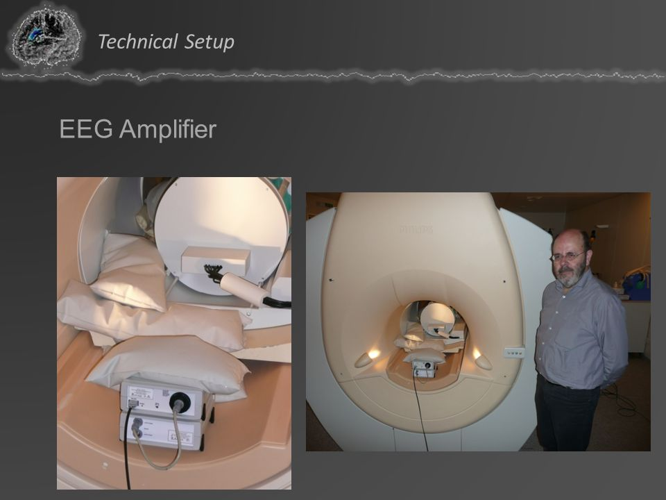 Technical Setup EEG Amplifier