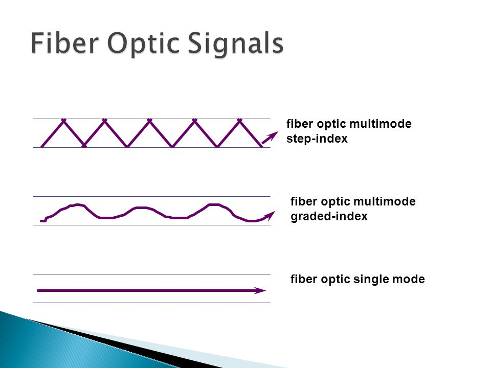 Fiber Optic Signals fiber optic multimode step-index