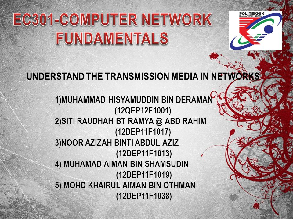EC301-COMPUTER NETWORK FUNDAMENTALS