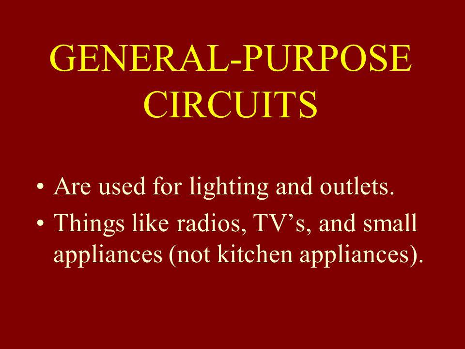 GENERAL-PURPOSE CIRCUITS