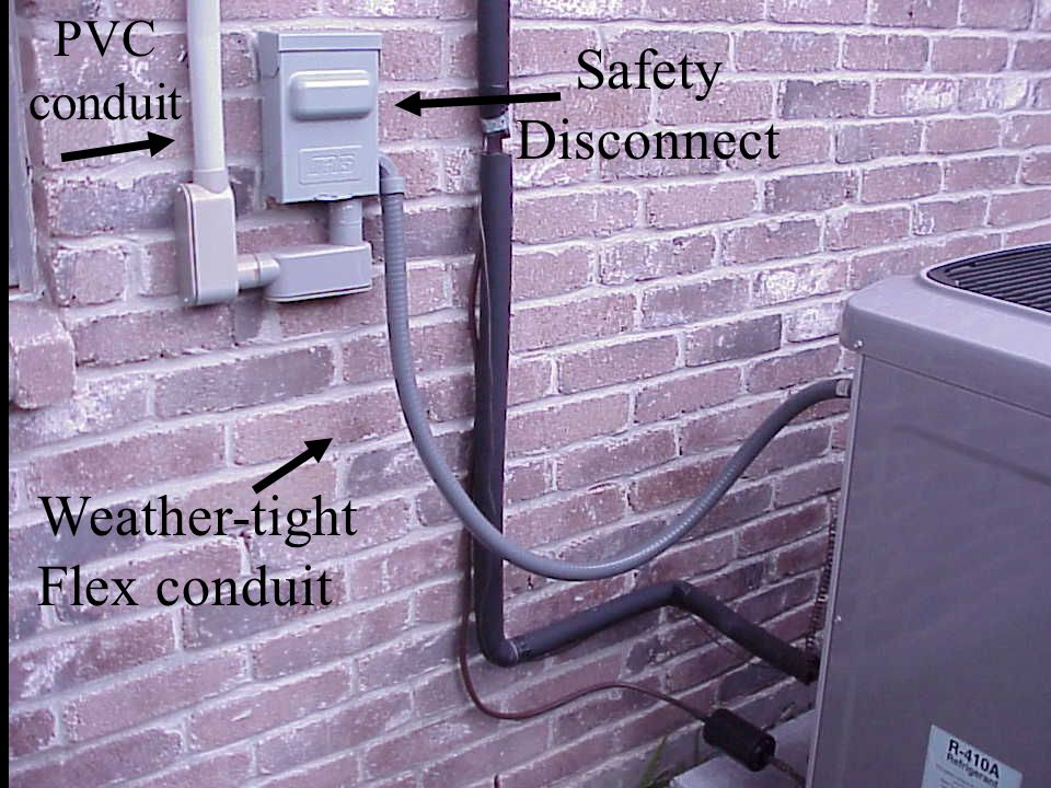 Weather-tight Flex conduit