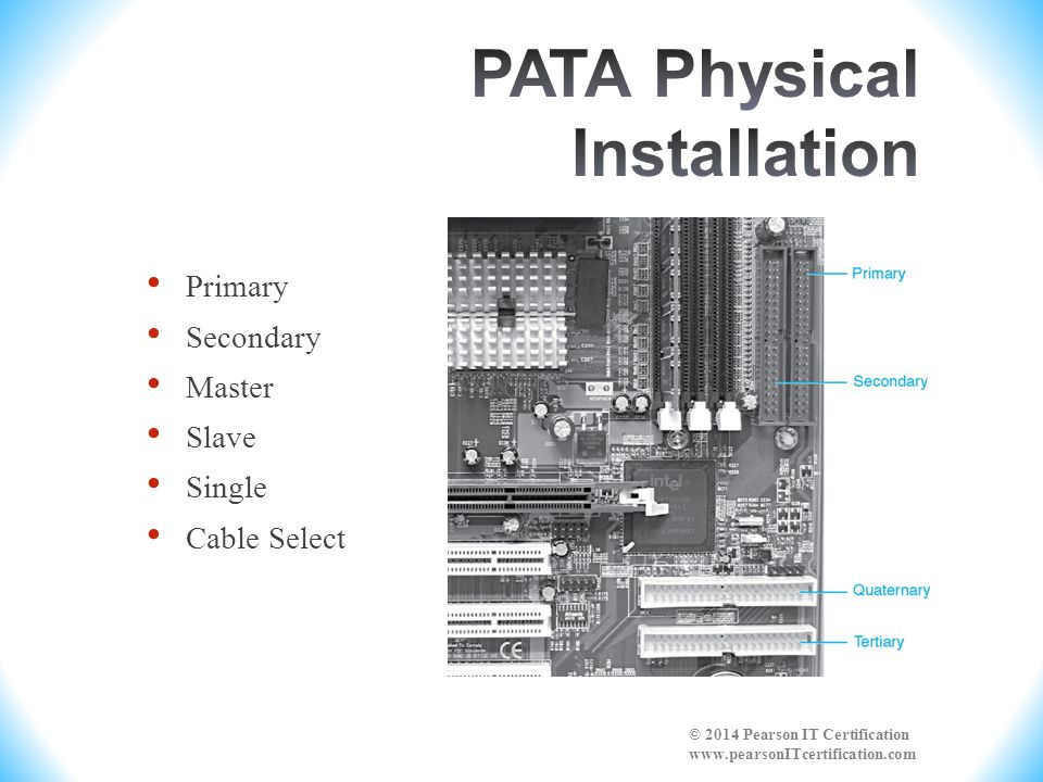 PATA Physical Installation