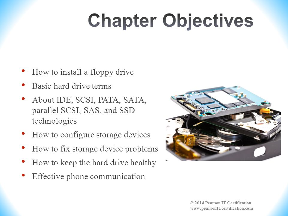 Chapter Objectives How to install a floppy drive