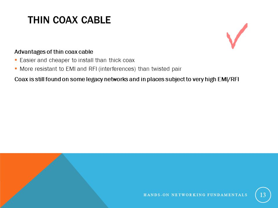Thin Coax Cable Advantages of thin coax cable