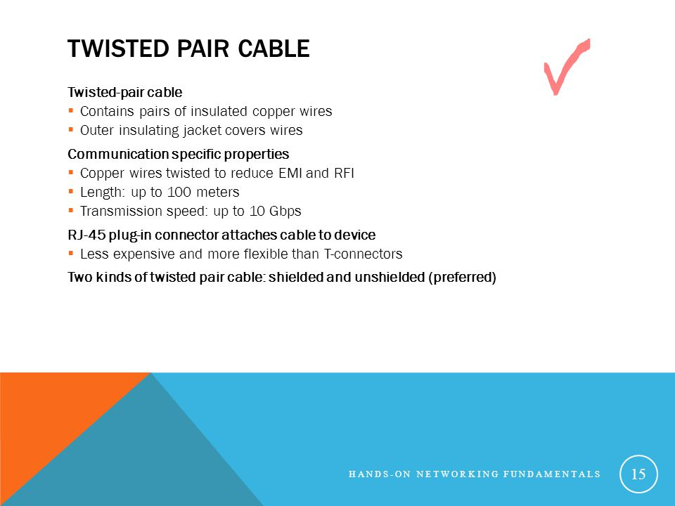 Chapter 4: Connecting Through a Cabled Network - ppt video online ...