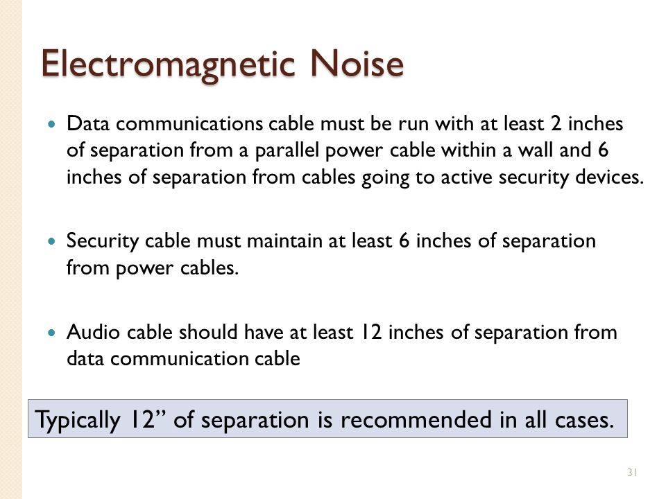 Electromagnetic Noise