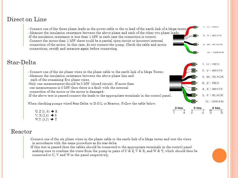 Direct on Line Star-Delta Reactor