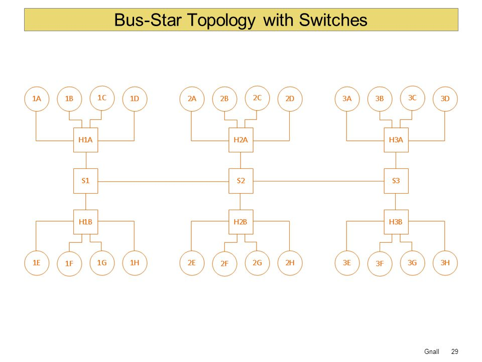 Bus-Star Topology with Switches
