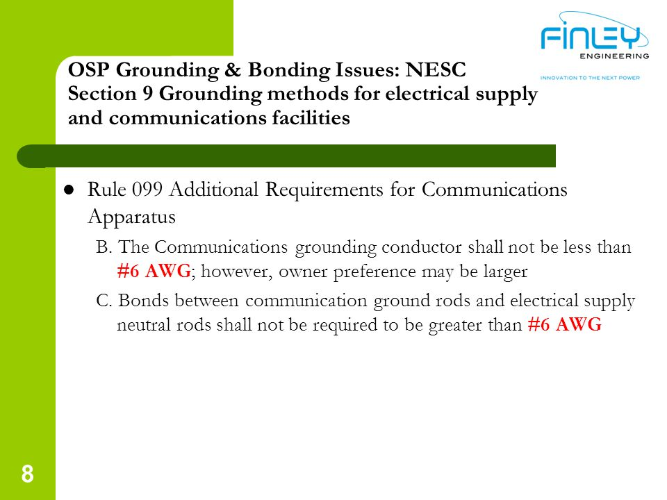 Rule 099 Additional Requirements for Communications Apparatus
