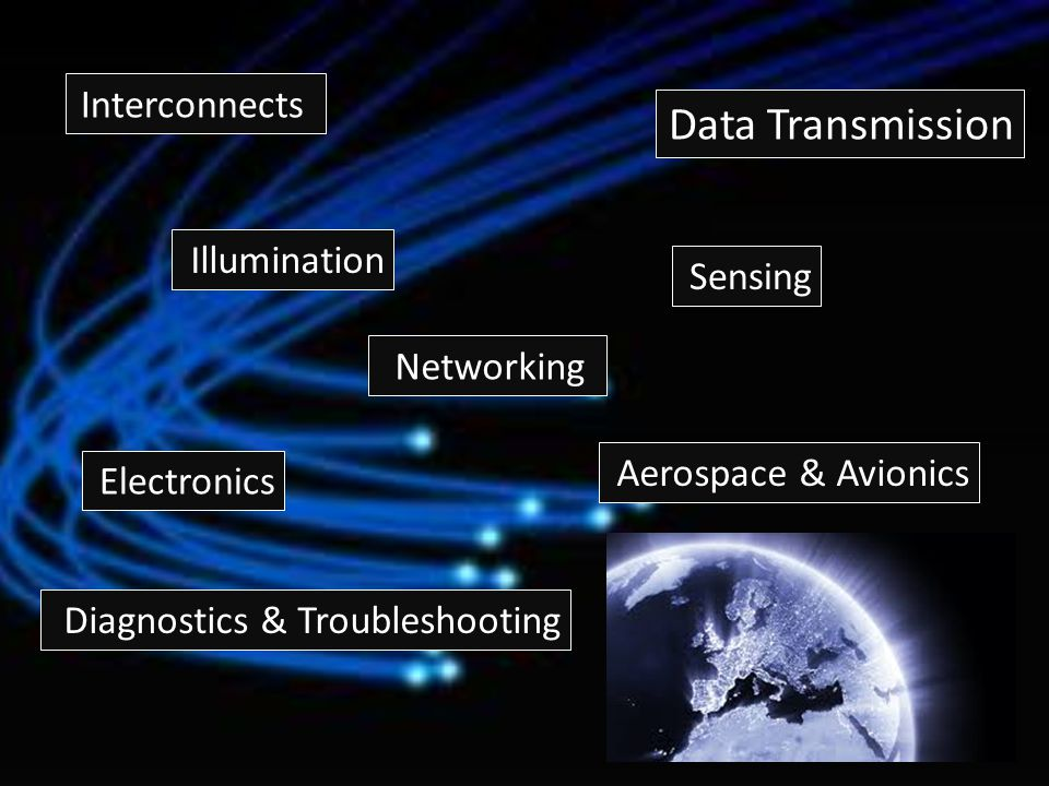 Data Transmission Interconnects Illumination Sensing Networking