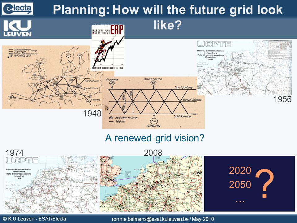 Planning: How will the future grid look like