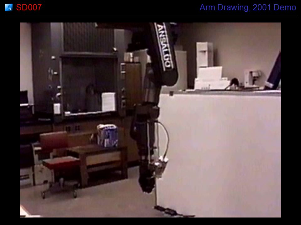 SD007 Arm Drawing, 2001 Demo