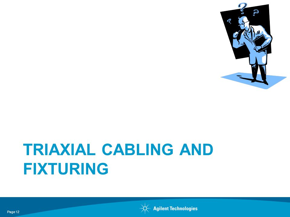 Triaxial cabling and fixturing