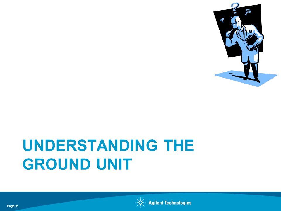 Understanding the ground unit