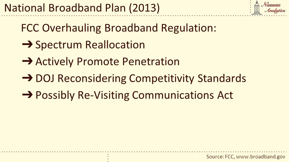 National Broadband Plan (2013)