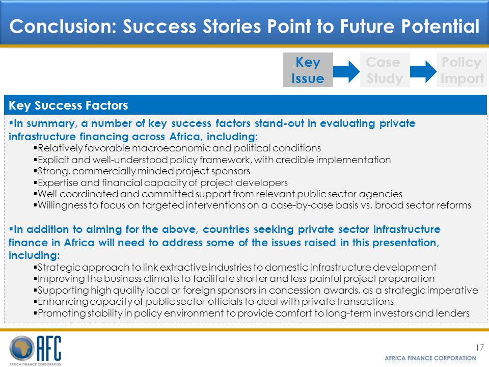 Conclusion: Success Stories Point to Future Potential