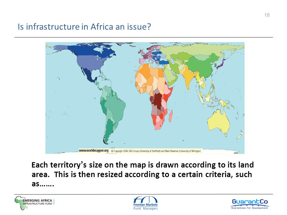 Is infrastructure in Africa an issue