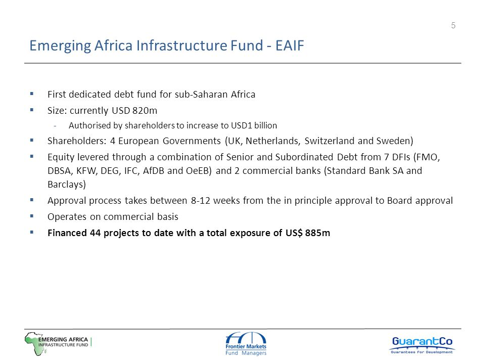 Emerging Africa Infrastructure Fund - EAIF