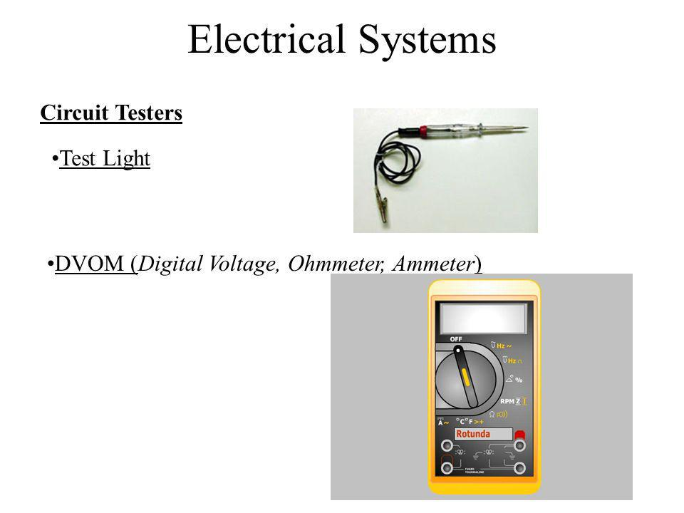 Electrical Systems Circuit Testers Test Light