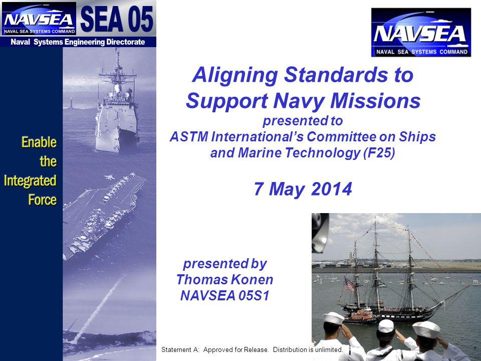 presented by Thomas Konen NAVSEA 05S1