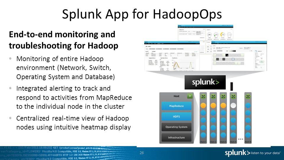 Splunk App for HadoopOps