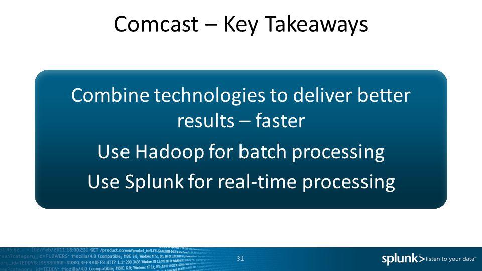 Comcast – Key Takeaways