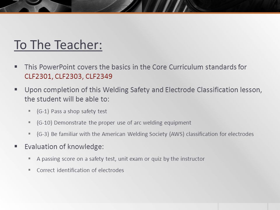 To The Teacher: This PowerPoint covers the basics in the Core Curriculum standards for CLF2301, CLF2303, CLF2349.
