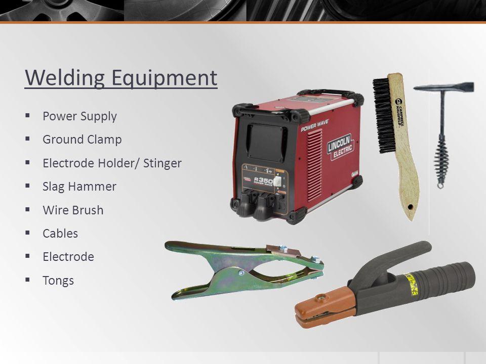 Welding Equipment Power Supply Ground Clamp Electrode Holder/ Stinger