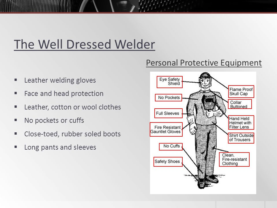 The Well Dressed Welder