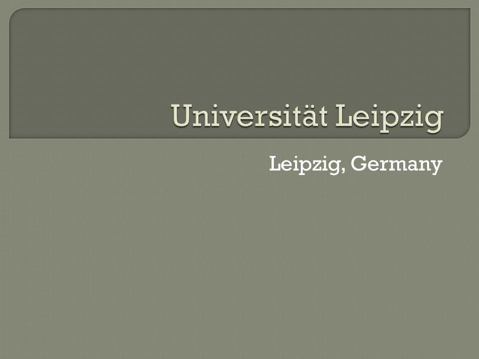 Universität Leipzig Leipzig, Germany