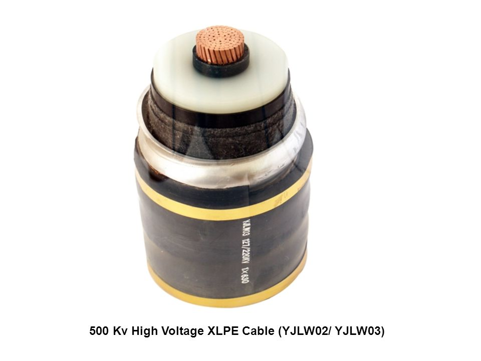 500 Kv High Voltage XLPE Cable (YJLW02/ YJLW03)