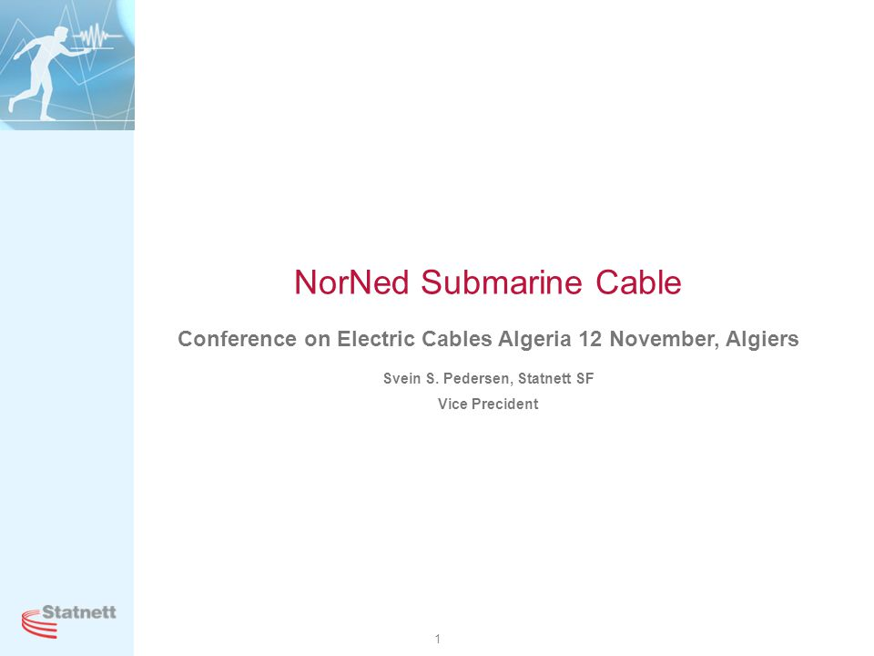 NorNed Submarine Cable