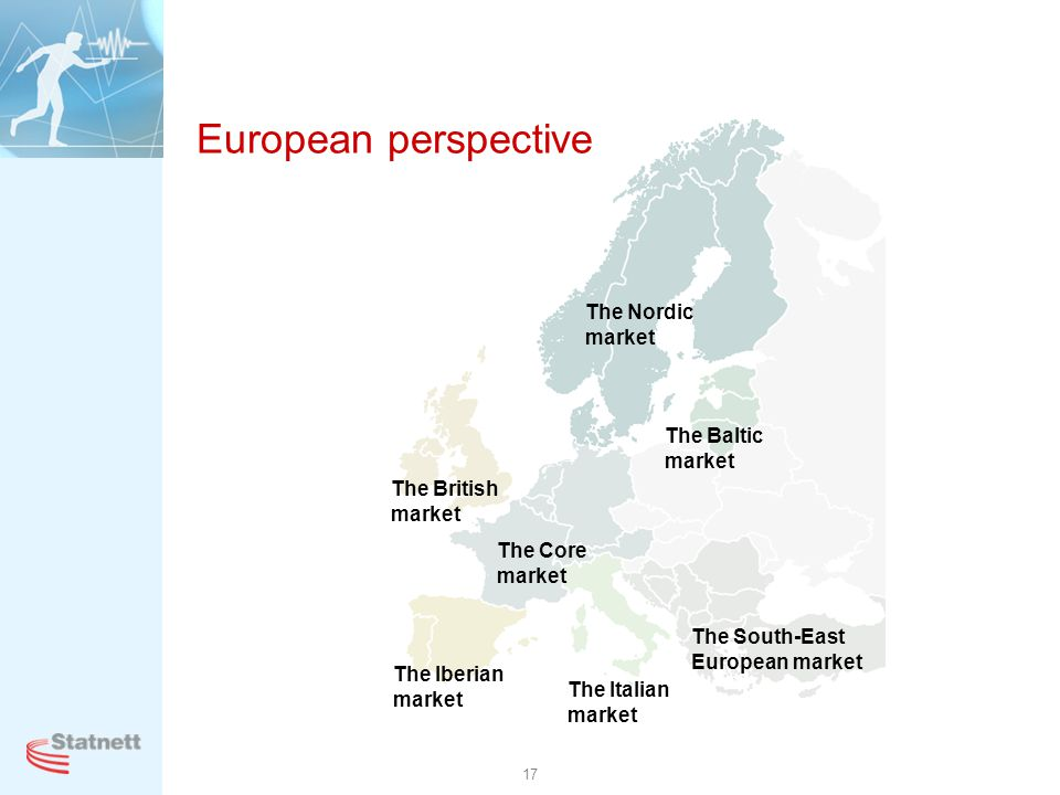 European perspective The Nordic market The Baltic market