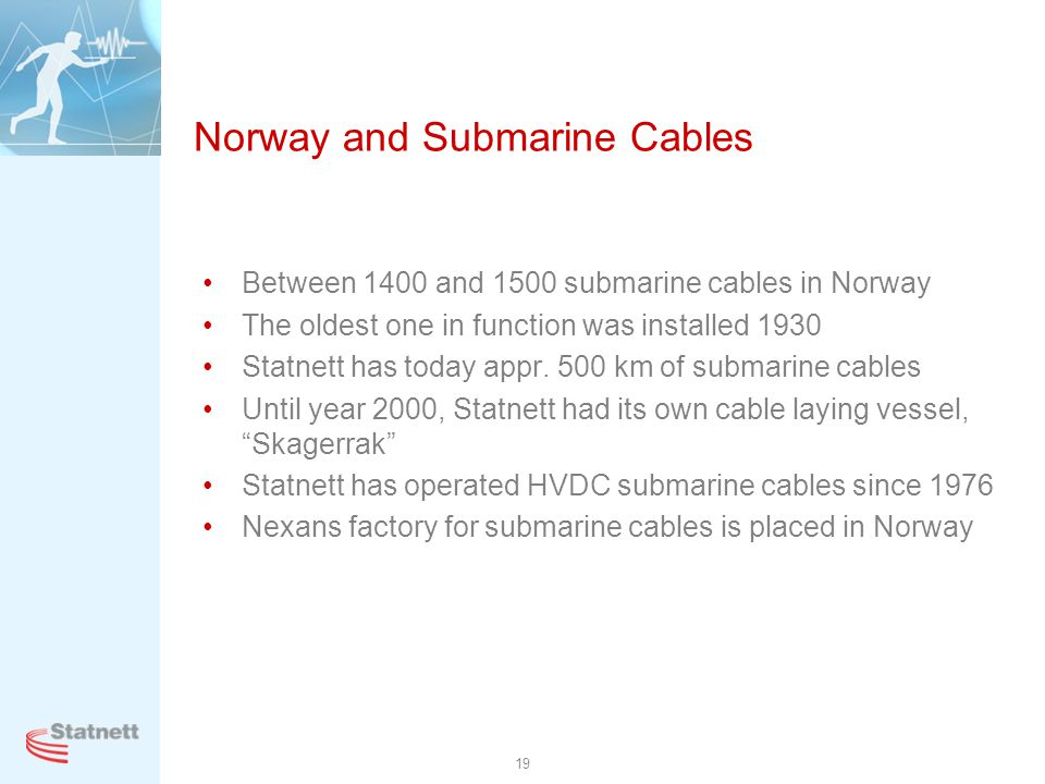 Norway and Submarine Cables