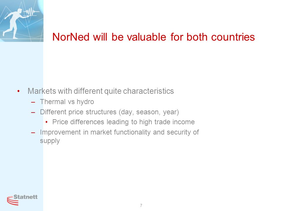NorNed will be valuable for both countries