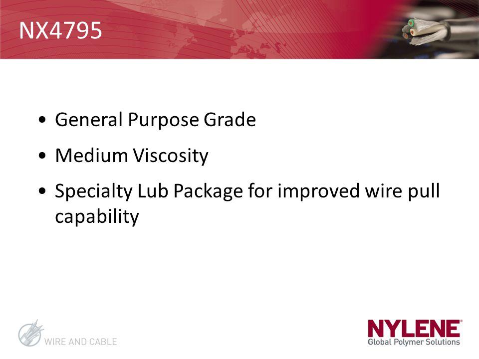 NX4795 General Purpose Grade Medium Viscosity