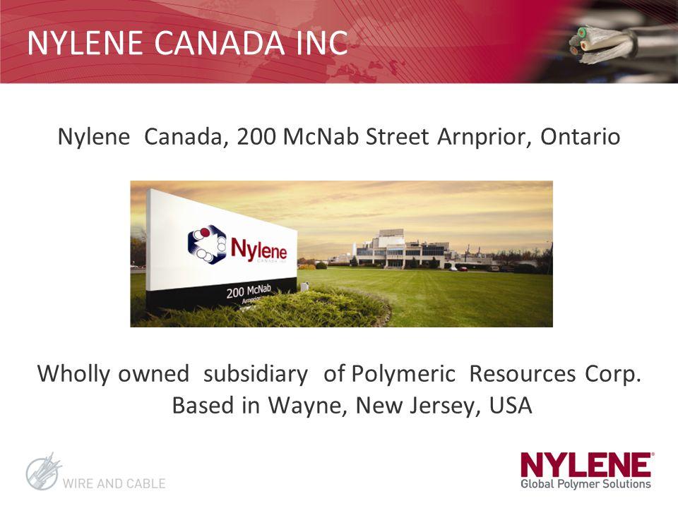 Nylene Canada, 200 McNab Street Arnprior, Ontario