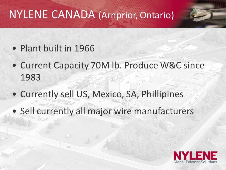 NYLENE CANADA (Arnprior, Ontario)
